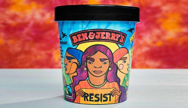 Μηνύματα κοινωνικής αλληλεγγύης σε αμερικανικά παγωτά