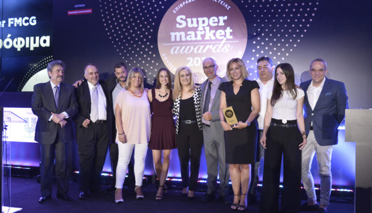 Πέντε βραβεύσεις για τη ΔΕΛΤΑ στα Super Market Awards 2019