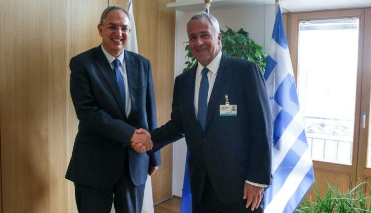 Άτυπη συνάντηση ΥπΑΑΤ Μ. Βορίδη με τον Κύπριο ομόλογό του, Κ. Καδή