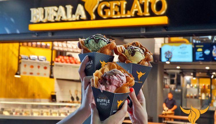 Νέο κατάστημα Bufala Gelato στο χαλάνδι