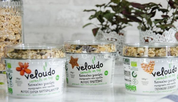 Νέο βιολογικό κατσικίσιο γιαούρτι Βελούδο με δημητριακά