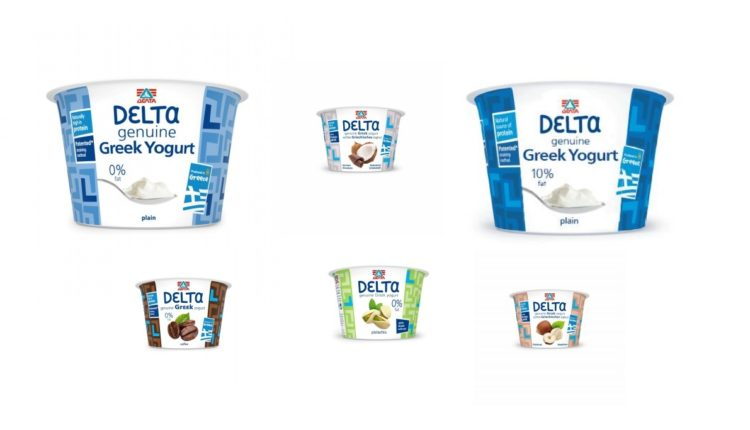 Βραβεύτηκαν τα στραγγιστά γιαούρτια DεLTα