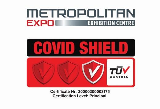 Το Εκθεσιακό Και Συνεδριακό Κέντρο Metropolitan Expo Απέκτησε Από Την TUV Austria Πιστοποίηση Covid Shield