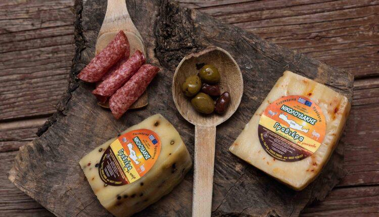 Νέα προϊόντα από την 'Τυροκομικά Προϊόντα Νικολουδάκης'