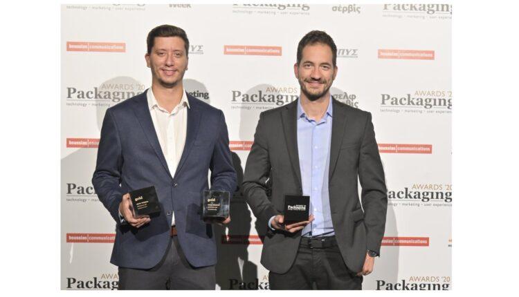 Τριπλή βράβευση της ΔΕΛΤΑ στα Packaging Awards 2020
